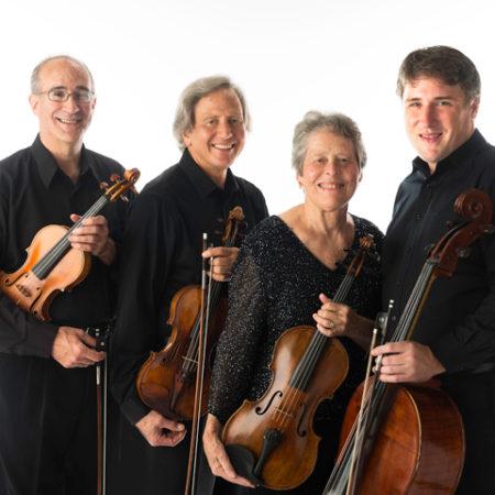 Portland String Quartet, photo credit Woody Leland
