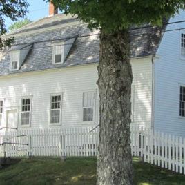 Shaker Meeting House Sabbathday Lake Village Maine