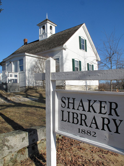 Shaker Library at Sabbathday Lake Shaker Village