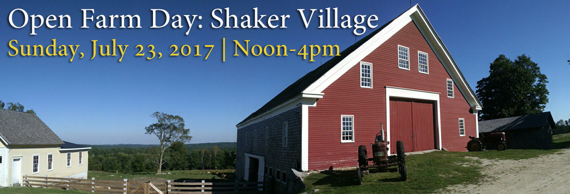 Open Farm Day at Sabbathday Lake Shaker Village