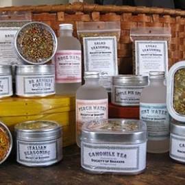 Shaker Herbs, Tea, and Culinary Water
