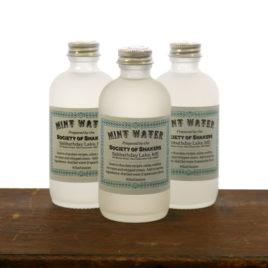 Shaker Mint Water