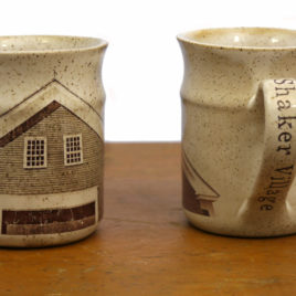 Shaker Village Pottery Mug