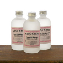 Shaker Rose Water