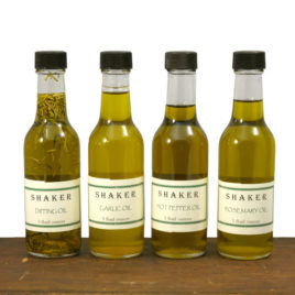 Shaker Herb Infused Oils
