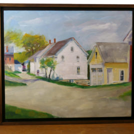 Tim Reimensnyder – View Down the Lane Painting