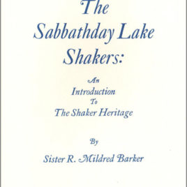 Sabbathday Lake Shakers booklet