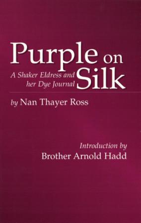 Purple on Silk book