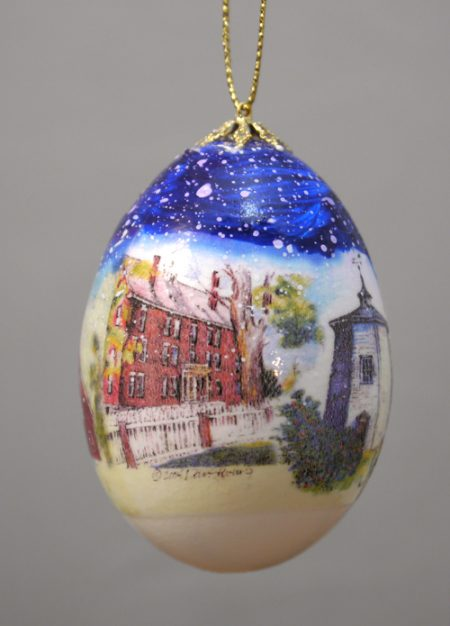 Shaker Village Egg Ornaments