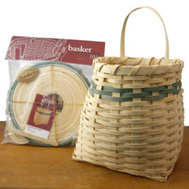 Basket Weaving 101 kit: Adirondack Pack Basket