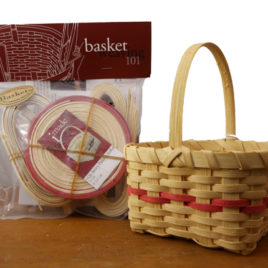 Basket Weaving 101 kit - 1 Quart Berry Basket