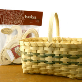 Basket Weaving 101 kit: Beth's Market Basket