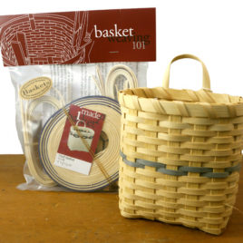 Basket Weaving 101 kit: Mail Basket