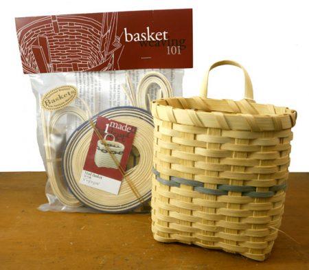 Basket Weaving 101 kit: Mail Basket