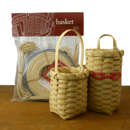 Basket Weaving 101 kit: Weaver's Choice Basket