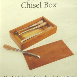 Chris Becksvoort Build a Chisel Box DVD