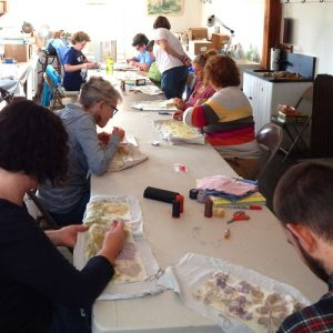 Embroidery on Eco-Prints Workshop
