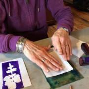 Gel Printing: Print the Garden Workshop