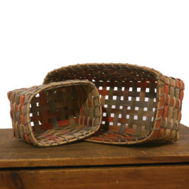Set of 2 Space Dyed Desk Baskets