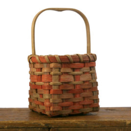 Space Dyed Basket with handle