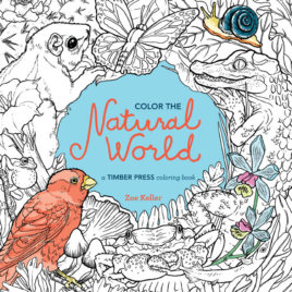 Color the Natural World book
