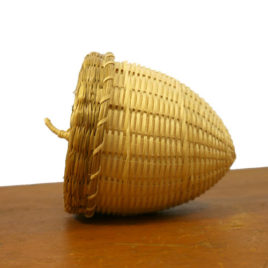 Acorn Basket by Pam Cunningham, Penobscot, Maine