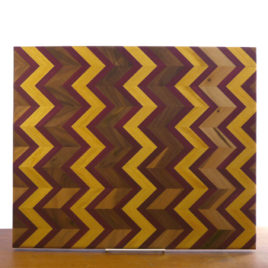 Herringbone Pattern Handmade Cutting Board