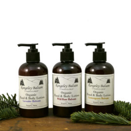 Organic Balsam Hand and Body Lotion