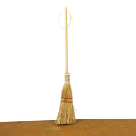 Shaker-style Broom Ornament