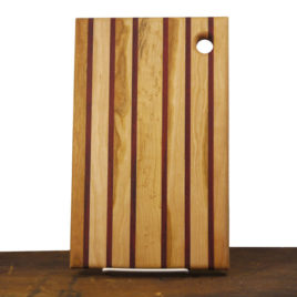 Wooden Cutting Board with hanging hole
