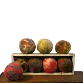 Handmade Felted Soap Ball