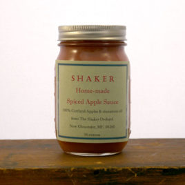 Shaker Home Made Spiced Apple Sauce