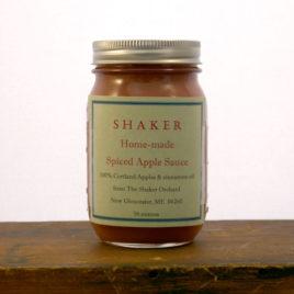 Shaker Home Made Spiced Apple Sauce