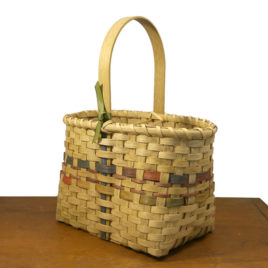 Wine Basket by Carolyn Kemp