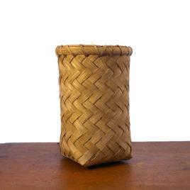 Tall Utensil Handwoven Basket by Carolyn Kemp for Shaker Village