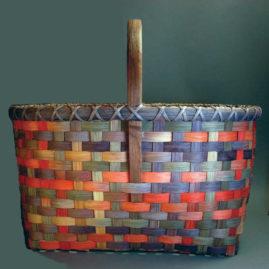 Space-Dyed Market Basket Workshop