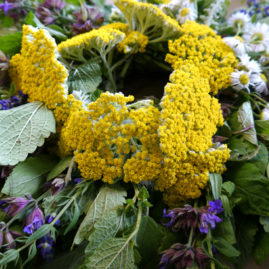 Herbal Wreath Workshop – Morning