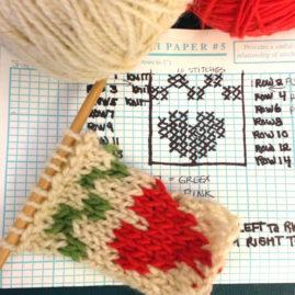 Intermediate Knitting: Mini Christmas Stocking Workshop