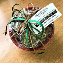 Shaker Herbs Gift Bowl