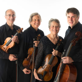 Portland String Quartet, photo credit Woody Leland