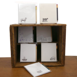 Letterpressed Notepads