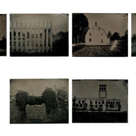 Tin Type Photographs of Sabbathday Lake Shaker Village (C) 2017 Cole Caswell